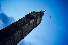 Big Ben & Plane (juliendevlaminck) Tags: street leica london big ben londres m8