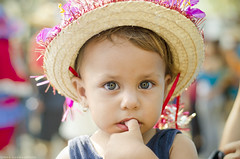 :) (Marvirbaple) Tags: street travel portrait people urban church beauty look childhood kids photography 50mm photo kid eyes nikon colorful child bokeh venezuela culture merida cult tradition beautifil culto d5100