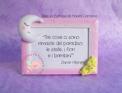 portafoto_sole_luna_bimba_pannolenci_maura cardana (Maura Cardana) Tags: luna feltro stelle cucito portafoto pannolenci