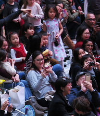 Lunar New Year, New York (lotos_leo) Tags: street people orange ny newyork manhattan stage chinese streetphotography indoor celebration wtc batteryparkcity lunarnewyear brookfieldplace