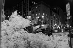 District Cleanup (jimmynotjim) Tags: street city snow storm streets night us dc washington districtofcolumbia unitedstates district cleanup columbia machinery loader 2016 500px ifttt