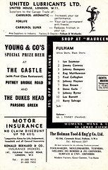 Fulham vs Coventry City - 1968 - Page 10 (The Sky Strikers) Tags: city one football official cottage division coventry fulham craven shilling league programme