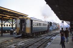 Thailand - Bangkok - Hua Lamphong Station (railasia) Tags: heritage thailand bangkok platform infra nineties srt mogul shunting steamloco hualamphongstation metergauge heritagerun exjnr platformdelights classc56