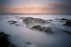 Part of the .16% (Zeb Andrews) Tags: oregon sunrise mediumformat landscape pinhole 120film pacificocean pacificnorthwest coastline 6x9 oregoncoast lensless analogphotography zeroimage colorfilm cookschasm thorswell