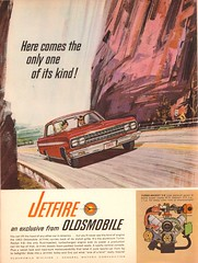 1963 Oldsmobile Jetfire Advertisement Motor Trend November 1962 (SenseiAlan) Tags: november advertisement motor trend 1962 oldsmobile 1963 jetfire