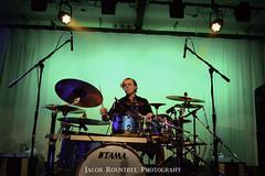 Drummer for the Bent Bones (jrountree333) Tags: music college nikon montana jacob north line fault bones 20mm bent montanastate the d3200