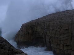 P1020146 (Cintia Billmaier.) Tags: strand mar meer marejada playa welle ola cantabria suances arbolada lumixtz60