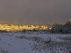 Post Snowstorm Sunset 2.5.16 (Boneil Photography) Tags: winter snow ex massachusetts newengland sigma panasonic haverhill dn m43 30mmf28 microfourthirds boneilphotography dmcg10 brendanoneil