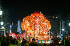 Tarragona Carnaval 2016 (Escipi) Tags: orange girl night none feather carnaval tarragona
