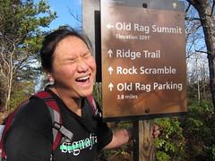 20151127,141904,Canon PowerShot S95 (orndorffr) Tags: mountain virginia hiking climbing va oldragmountain oldrag
