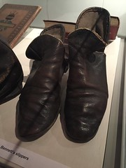 Bennett's slippers (quimby) Tags: art museum gallery potteries