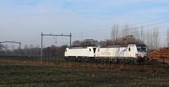 Siemens 193 902+189 823(1/6) (Openbaar vervoer in Europa) Tags: test br siemens eisenbahn het 189 193 823 902 broek brandevoort vectron
