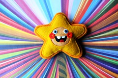 STARSHINE!!!! (Lawdeda ) Tags: two me its wonderful that miniature doll all handmade crying over free pals mini felt days plush ended week almost killed pocket has sounds picmonkey thebigforest