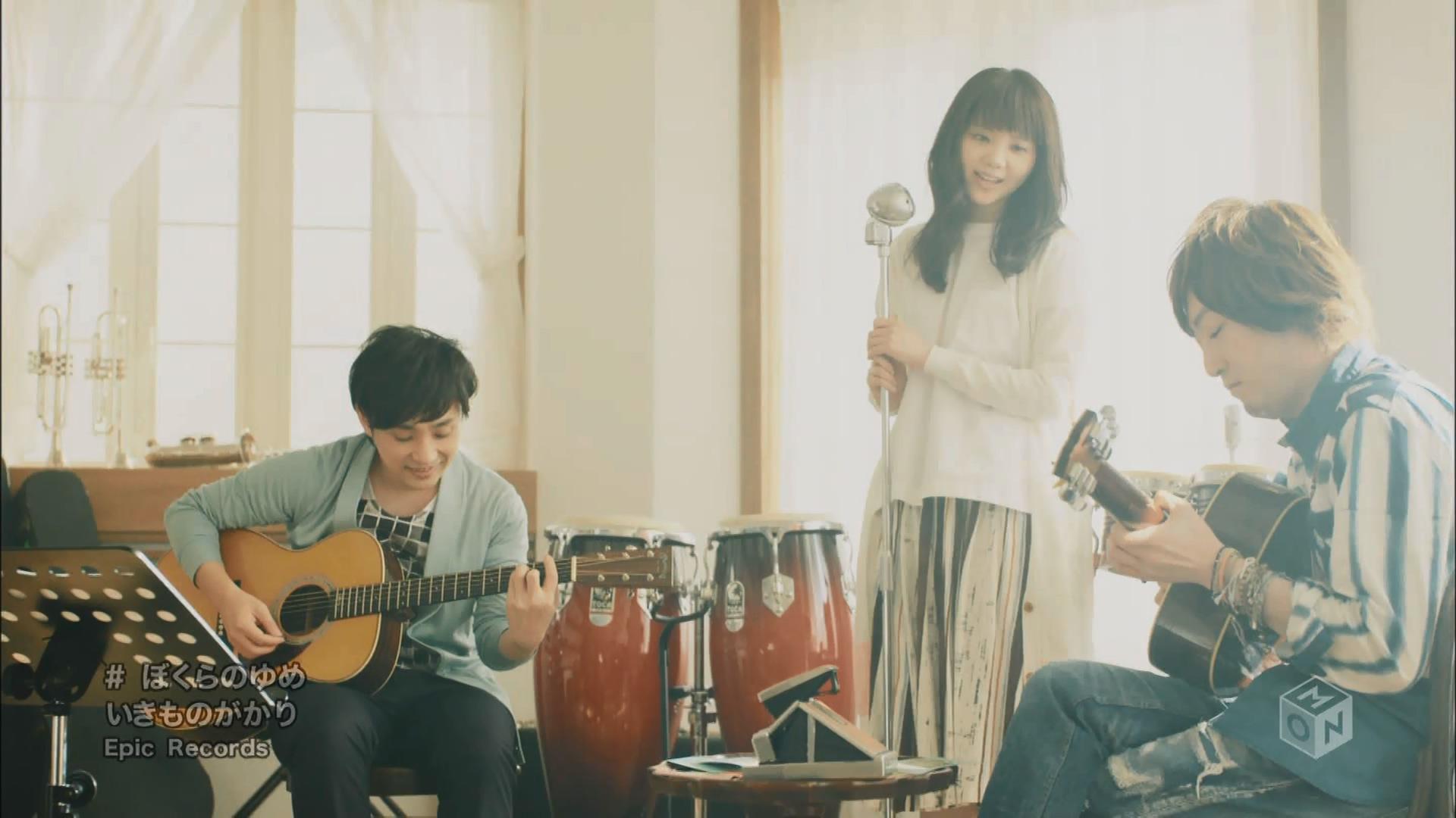 2016.03.16 いきものがかり - ぼくらのゆめ(M-ON!).ts_20160317_072649.295