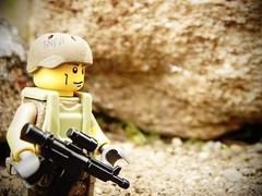 Marine (Dark_Plague) Tags: world outdoors us nikon marine war day lego military mision irak afol brickforge bricharms