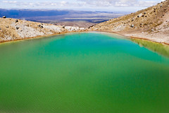 Poison Green (Magdelaine L Photography) Tags: mountain lake green pool photography pond raw sony horizon saltlake sulphur poison dslr rawphotography sonydslr
