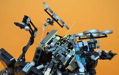 Decibelle_22 (Shadowgear6335) Tags: orange radio robot factory lego good technic hero bionicle mech moc shadowgear6335 bionicle2015