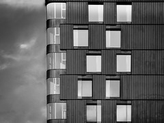 Facade (Zwitt Erion) Tags: street paris france building facade blackwhite ledefrance iledefrance noirblanc 19me immeube