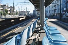 Keisei Electric RailwayIchikawamama Station (Iyhon Chiu) Tags: station japan train japanese platform railway chiba   keisei   2015         ichikawamama