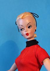 f/s resin Bild Lilli 'Lotta' (Pania Cope) Tags: hk vintage ooak barbie wip hong kong ponytail resin bild clone lotta lilli repaint pania faceup