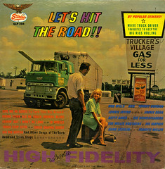 Let's Hit The Road!! (Jim Ed Blanchard) Tags: road truck vintage hit driving lets brothers trucker album vinyl bob joe stop jacket cover lp record irving wills sleeve lonnie willis starday maphis