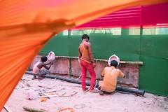 _DSF9253 (travelstreetmodel) Tags: india festival urinal urinals preparation indianmen sonepur festivaltoilets sonepurmela indiatravelphotography fuji23mm fujixt1 sonepurmela2015