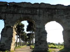 Aqueduct: a part (tatiana.minori) Tags: park italy rome travelling architecture landscapes travels ruins outdoor natur places ancientrome