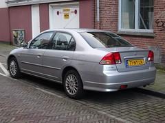 2004 Honda Civic IMA (harry_nl) Tags: netherlands honda utrecht nederland civic hybrid ima 2016 hcar sidecode6 71ntlh