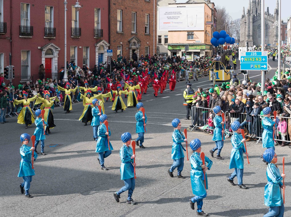 GAME ON BY CITY FUSION [DUBLIN 2016 PATRICK'S DAY PARADE]-112583