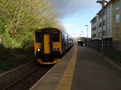 150243 Penryn (Marky7890) Tags: station train cornwall railway penryn gwr sprinter dmu fgw class150 2f73 150243 maritimeline