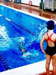 Splash!!! (cor20131) Tags: swim piscina acqua nuoto tuffo iphone effetti schiuma schizzo