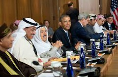 Gulf Summit: Obama And Arab Leaders Hold Talks In Riyadih (ododogeorge) Tags: arab barackobama usgovernment gulfsummit