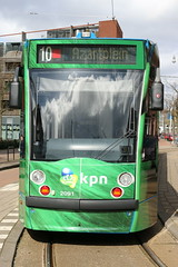 Lijn 10 -> Azartplein (AMSfreak17) Tags: world light holland public netherlands dutch amsterdam canon advertising de traffic reclame transport nederland siemens tram rail railway transportation danny service van kpn 13g trams strassenbahn gvb ov the amsterdamse combino vervoer openbaar 70d 14g 2091 gemeentelijk of vervoerbedrijf soet stadsvervoer hallstraat amsfreak17 commercialtram