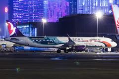 AIR MACAU A321(WL) B-MBM 001 (Adolf Scirooco Kevin Zabi Murasame Muller Chung) Tags: light night plane aviation aeroplane airbus macau spotting mfm  a321 nx   airmacau  a321ceo