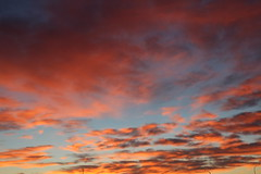 Crimson clouds (Scott Douglas Worldwide) Tags: sunset arizona sky sun sexy smiling america perfect ship awesome az s awsome surfboard p sunrays yumaaz atlasta