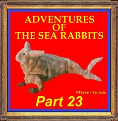 ADVENTURES OF THE SEA RABBITS (PART 23) (searabbits23) Tags: ny newyork sexy celebrity rabbit art hat fashion animal brooklyn asian coneyisland japanese star tv google king artist dragon god manhattan famous gothic goth uma ufo pop taxidermy vogue cnn tuxedo bikini tophat unitednations playboy entertainer oddities genius mermaid amc mardigras salvadordali performer unicorn billclinton seamonster billgates aol vangogh curiosities sideshow jeffkoons globalwarming mart magician takashimurakami pablopicasso steampunk damienhirst cryptozoology freakshow seara immortalized takeshiyamada roguetaxidermy searabbit barrackobama ladygaga climategate  manwithrabbit