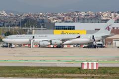 Qatar Amiri Flight Airbus A340-500 A7-HHH (j.borras) Tags: barcelona airplane ramp taxi bcn flight airbus operations 500 amiri runway tow spotting qaf a340 qatar departing rwy25l lebl a7hhh