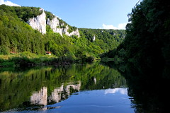 Reflection (gringodoctor) Tags: reflection water river spiegelbild donau naturpark obere