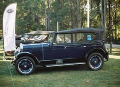 Classic blue car (Matthew Paul Argall) Tags: classic classiccar 110 bluecar 110film minolta110zoomslrmarkii