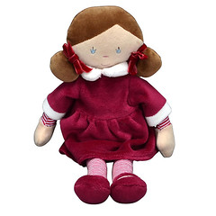 Margot the French Doll (initial_impressions) Tags: embroidered personalized frenchdoll babysfirstdoll allfabricdoll