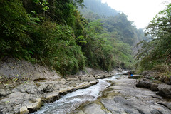 View Downriver (Bob Hawley) Tags: people mountains nature water forest outdoors asia hiking taiwan streams nikon1755f28 yunlincounty nikond7100 qingshuiriver