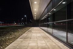 Time to reflect (georgehuthart) Tags: nightphotography urban industry canon factory path sheffield canoneos5d flickrexplore sheffieldindustry