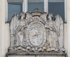20160221-_D8H2240 (ilvic) Tags: sculpture angel heraldry relief