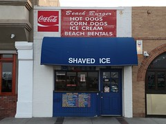 Shaved Ice (Commit No Nuisance) Tags: ice beach burger shaved coke