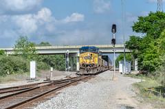 CSXT 117 (gameover340) Tags: railroad train louisiana tracks freight csx csxt ac44cw stacktrain ztrain updequincysubdivision zatsa