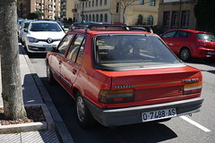 Peugeot 309 GLD (Jusotil_1943) Tags: coches baca redcars 060416