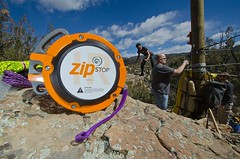 Who needs a parachute to brake a #zipline if you can have a proper brake? #zipstop #zipwire http://j.mp/1OMzK1O (Skywalker Adventure Builders) Tags: design high construction course ropes zipline zipwire skywalker hochseilgarten waldseilpark klimpark klimbos