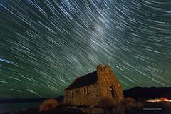 tekapo startrails (tommy0620) Tags: new church landscape star natural zealand laketekapo startrails starrynight nikond610