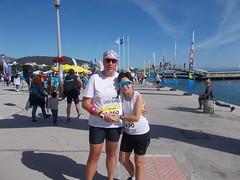 Mazi me tin Maria prin tin ekkinisi - 4 (illrunningGR) Tags: greece races halfmarathon volos marbie illrunning