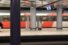 Amsterdam Schiphol Airport underground railway station (Davydutchy) Tags: holland netherlands station amsterdam train march airport gare capital hauptstadt nederland railway zug bahnhof schiphol paysbas trein niederlande 2016 hoofdstad